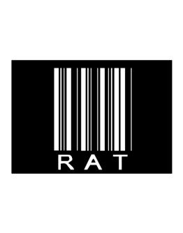 Rat Barcode / Bar Code Sticker