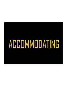 Accommodating - Simple Sticker