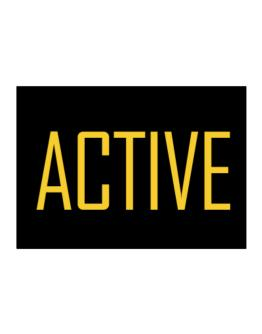 Active  - Simple Sticker