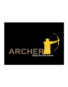 Archery - Only For The Brave Sticker