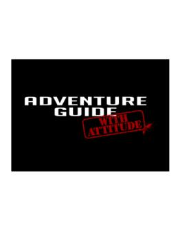 Adventure Guide With Attitude Sticker