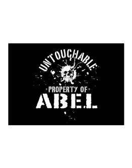 Untouchable : Property Of Abel Sticker