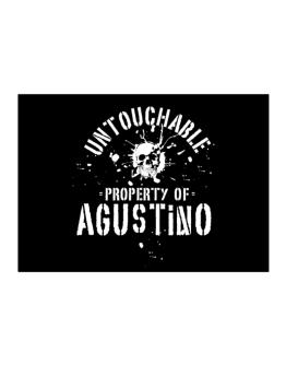 Untouchable : Property Of Agustino Sticker
