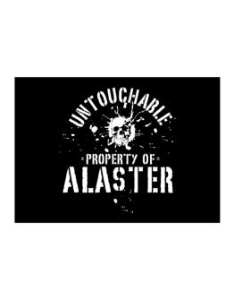 Untouchable : Property Of Alaster Sticker
