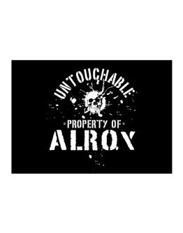 Untouchable : Property Of Alroy Sticker