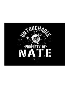 Untouchable : Property Of Nate Sticker