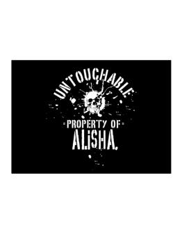 Untouchable Property Of Alisha - Skull Sticker