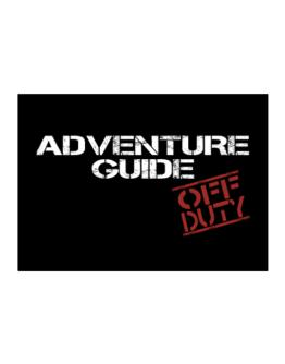 Adventure Guide - Off Duty Sticker
