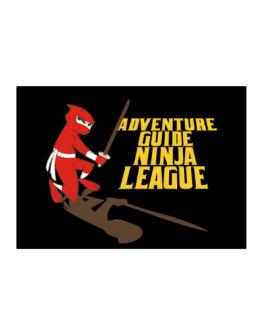 Adventure Guide Ninja League Sticker