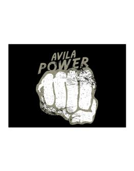 Avila Power Sticker