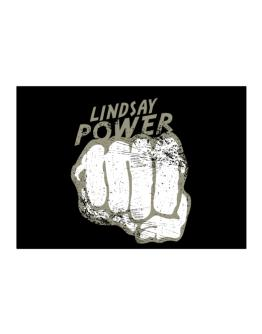 Lindsay Power Sticker