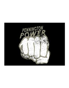 Pennington Power Sticker