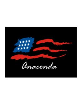 Anaconda - Us Flag Sticker