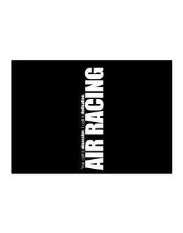 Air Racing Dedication Air Racing Sticker