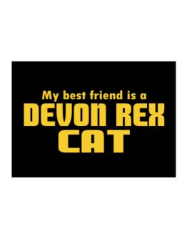 My Best Friend Is A Devon Rex Sticker