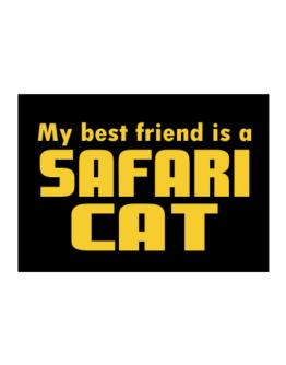 My Best Friend Is A Safari Sticker