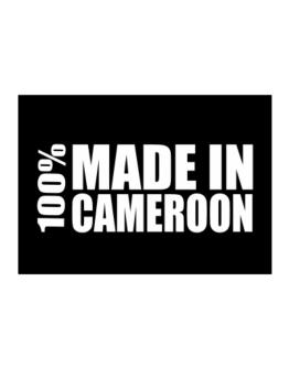 100% Made In Cameroon Sticker