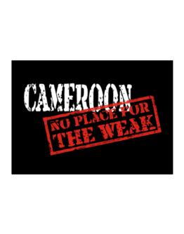Cameroon No Place For The Weak Sticker