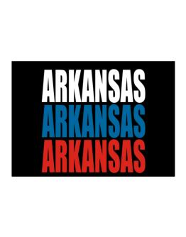 Triple Color Arkansas Sticker