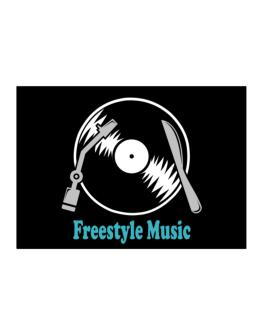 Freestyle Music - Lp Sticker