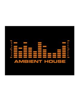 Ambient House - Equalizer Sticker