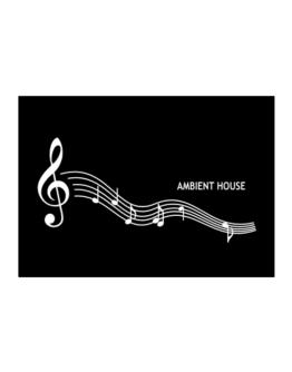 Ambient House - Notes Sticker