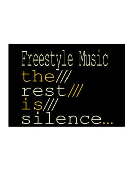 Freestyle Music The Rest Is Silence... Sticker