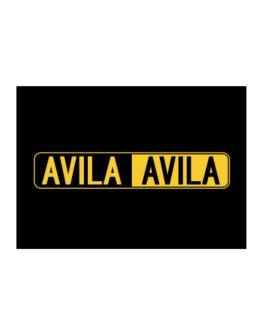 Negative Avila Sticker