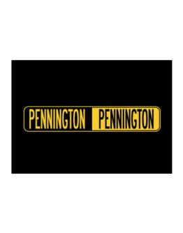 Negative Pennington Sticker