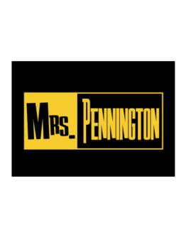 Mrs. Pennington Sticker