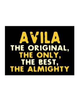 Avila The Original Sticker