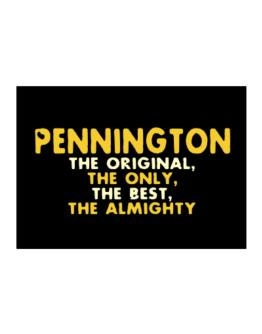 Pennington The Original Sticker