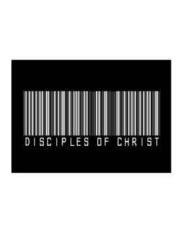 Disciples Of Christ - Barcode Sticker