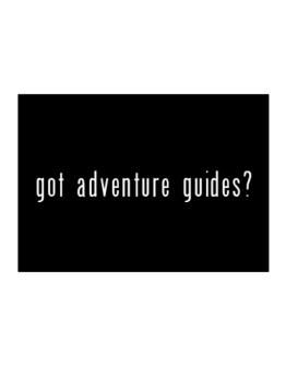 Got Adventure Guides? Sticker