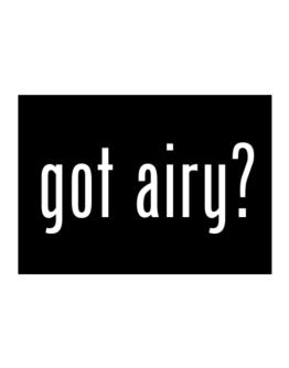 Got Airy? Sticker