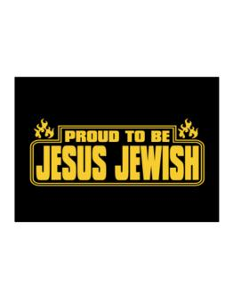 Proud To Be Jesus Jewish Sticker