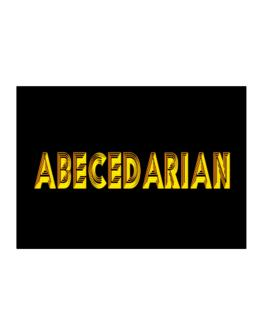 Abecedarian Sticker