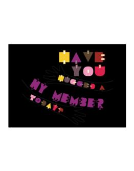 Have You Hugged A Hy Member Today? Sticker