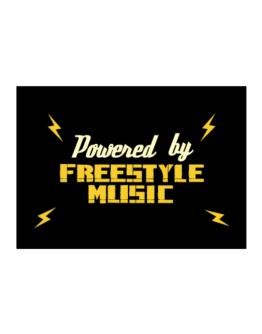 Powered By Freestyle Music Sticker