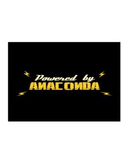 Powered By Anaconda Sticker
