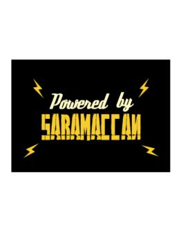 Powered By Saramaccan Sticker
