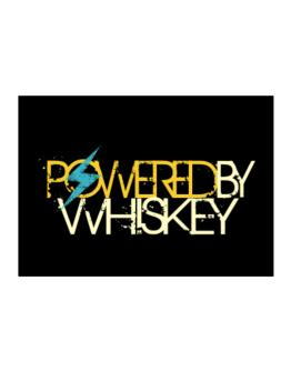 Powered By Whiskey Sticker