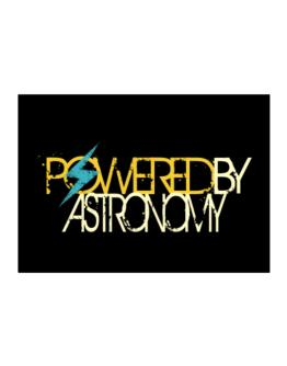 Powered By Astronomy Sticker