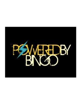Powered By Bingo Sticker