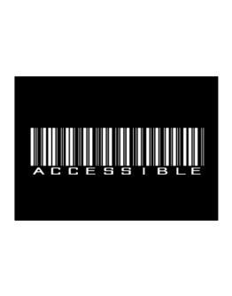Accessible Barcode Sticker