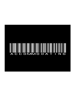 Accommodating Barcode Sticker