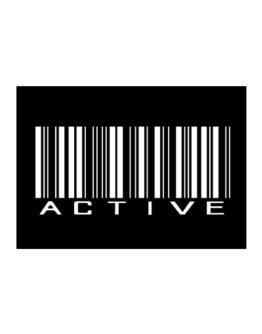 Active  barcode Sticker