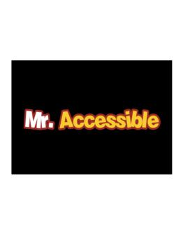 Mr. Accessible Sticker