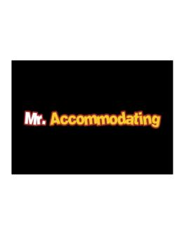 Mr. Accommodating Sticker