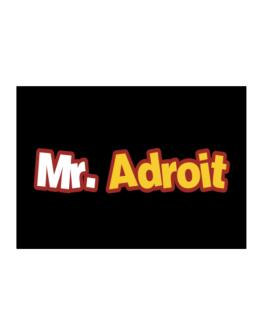 Mr. Adroit Sticker